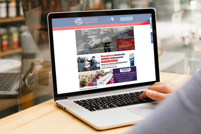 rainbow multimedia portfolio strona www wirtualne legionowo