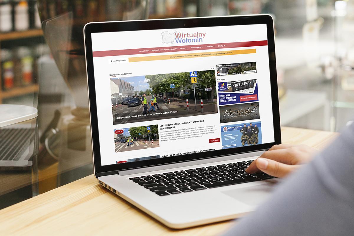 Wirtualny Wołomin portfolio rainbow multimedia